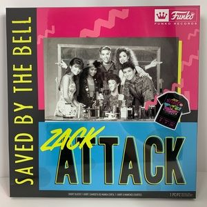 Saved by the Bell Zack Attack T-shirt NWT